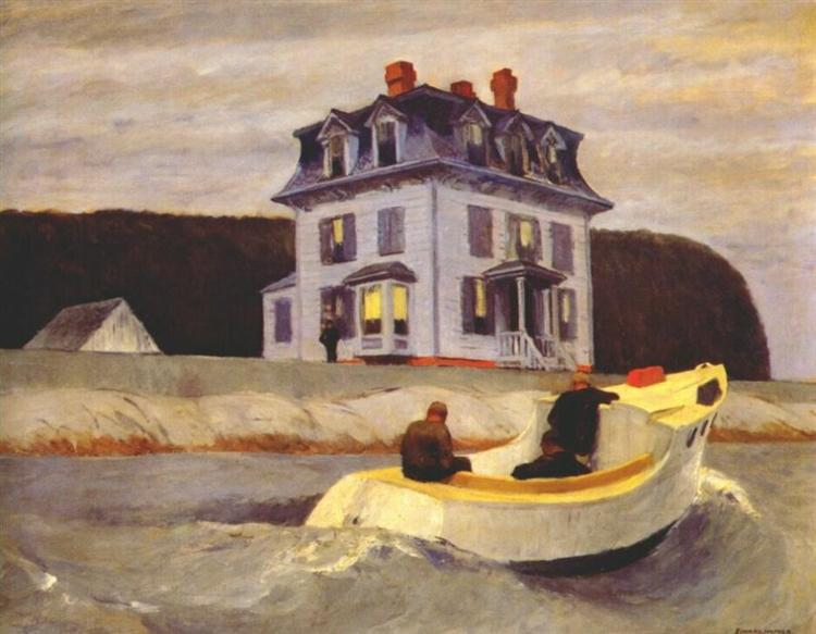 The Bootleggers, 1925 - Edward Hopper