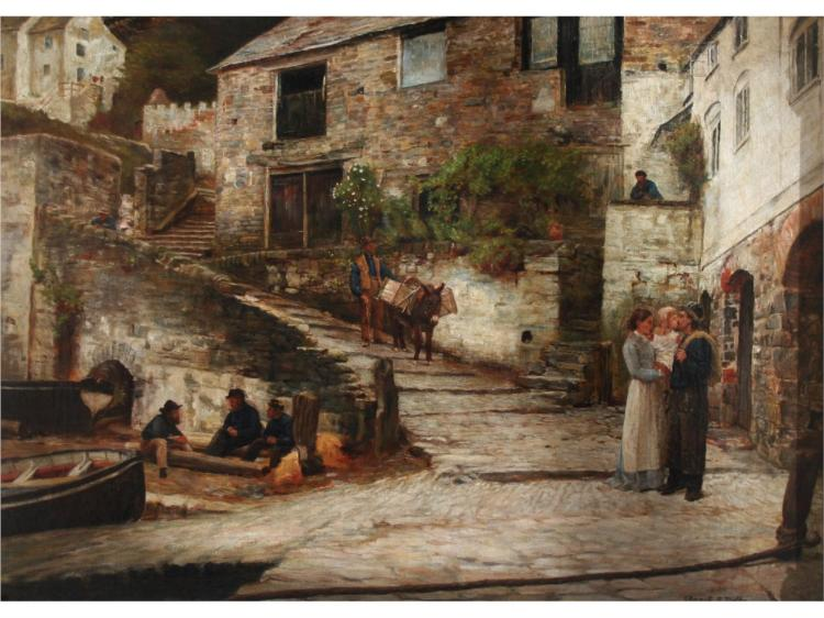 Clovelly, 1880 - Edward R. Taylor