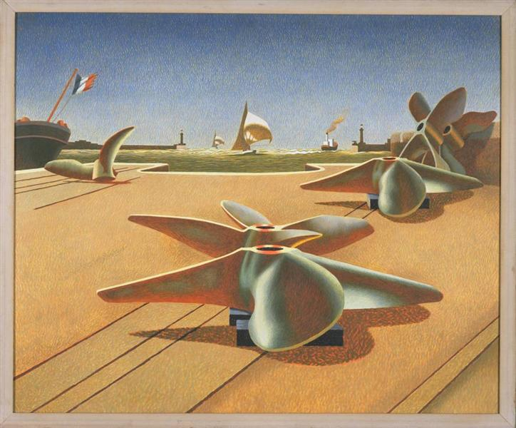 Bronze Ballet, 1940 - Edward Wadsworth