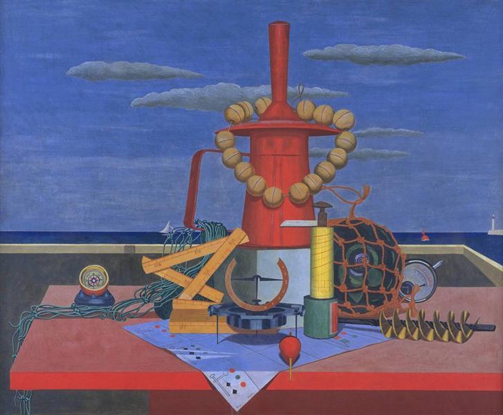 Regalia, 1928 - Edward Wadsworth