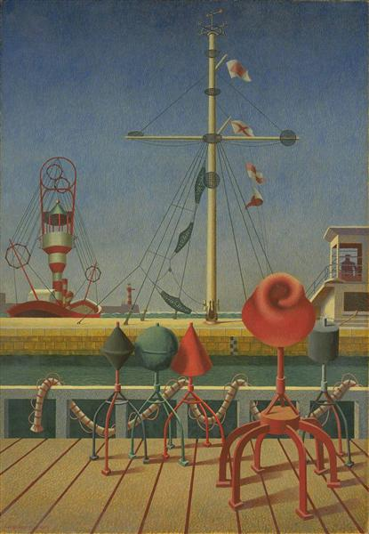 Signals, 1942 - Edward Wadsworth