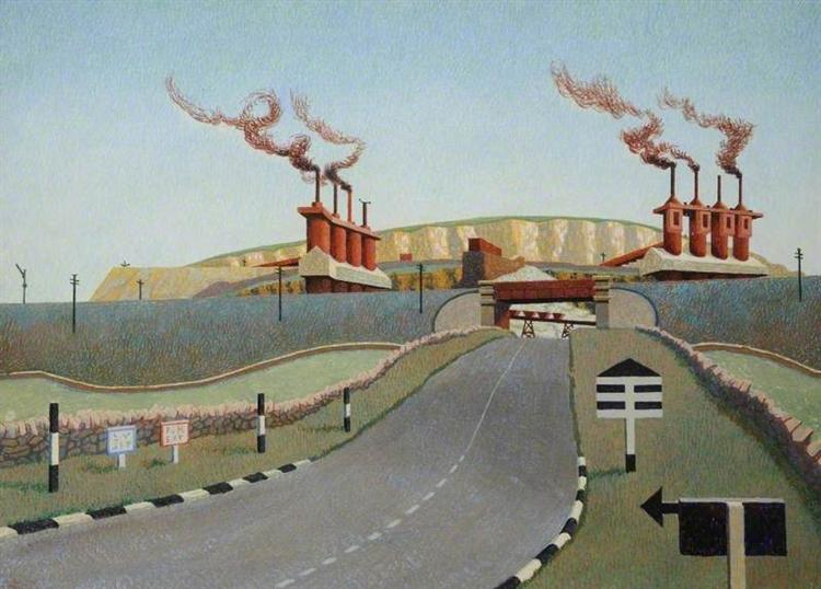 Top of the World, 1943 - Edward Wadsworth