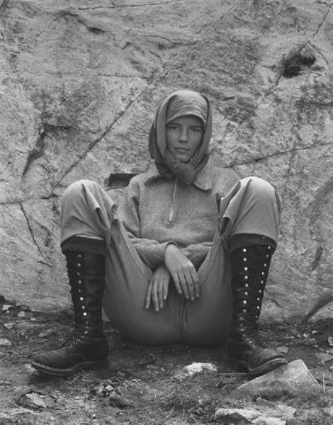 Charis, Lake Ediza, California, 1937 - Edward Weston