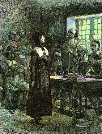 Anne Hutchinson on Trial, 1901