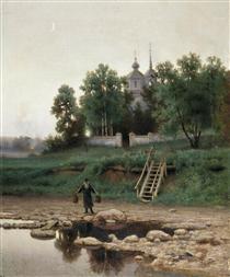 Near the Monastery - Ефим Волков