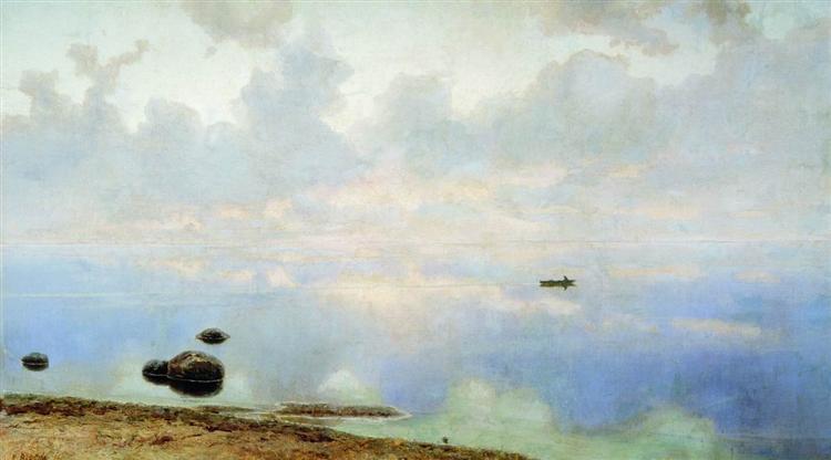 Seascape, 1895 - Efim Volkov