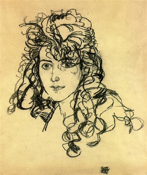 Madame Sohn, 1918 - Egon Schiele