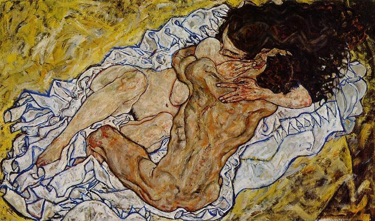 The Embrace, 1917 - Egon Schiele