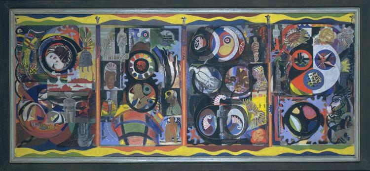 The Autobiography of an Embryo, 1933 - 1934 - Eileen Agar