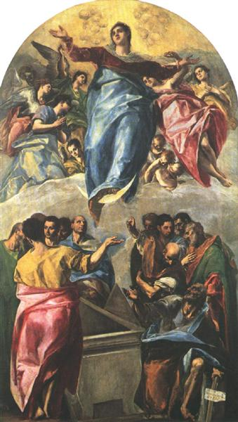Assumption of the Virgin, 1577 - El Greco