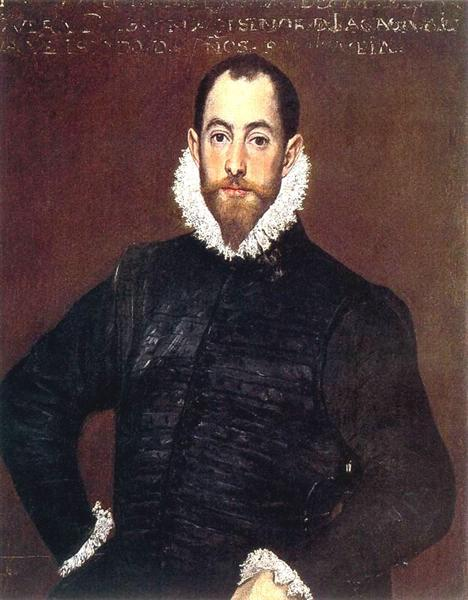 Portrait of a gentleman from Casa de Leiva, 1580 - El Greco