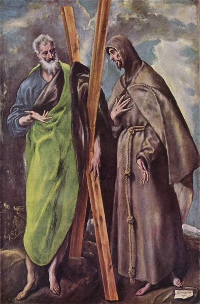 St. Andrew and St. Francis, 1604 - El Greco