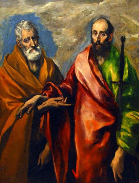 St. Paul and St. Peter, c.1595 - El Greco