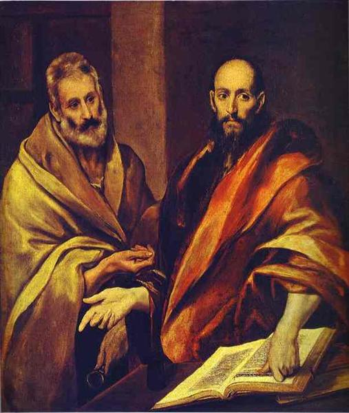 St. Peter and St. Paul, c.1607 - El Greco