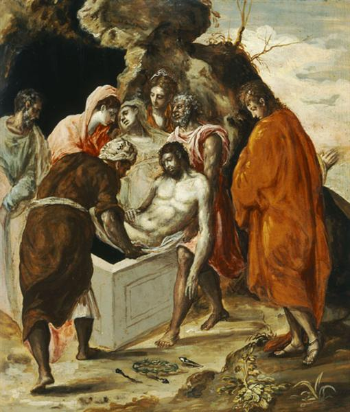The Entombment of Christ, c.1568 - c.1570 - El Greco
