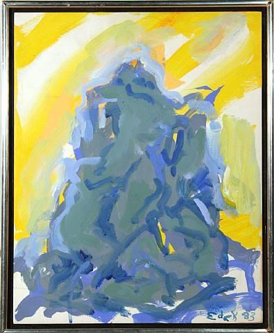 Bacchus, 1983 - Elaine de Kooning