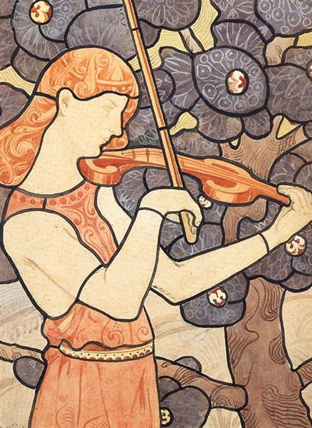 A música, 1898 - Eliseu Visconti
