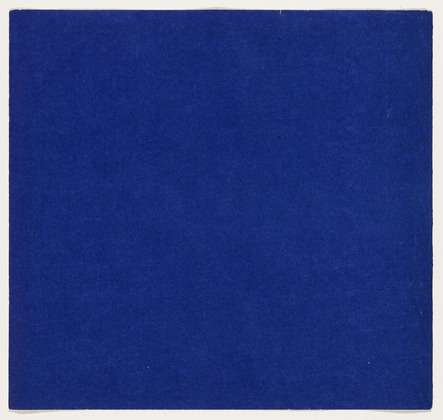 Blue from the series Line Form Color, 1951 - Ellsworth Kelly