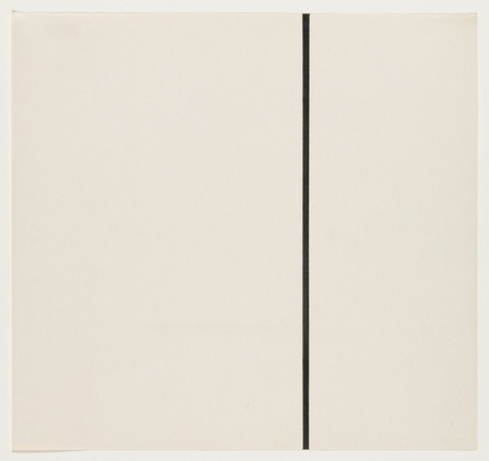 Vertical Line from the series Line Form Color, 1951 - Ellsworth Kelly
