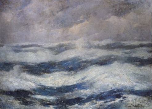The Sky and the Ocean, 1913 - Emil Carlsen