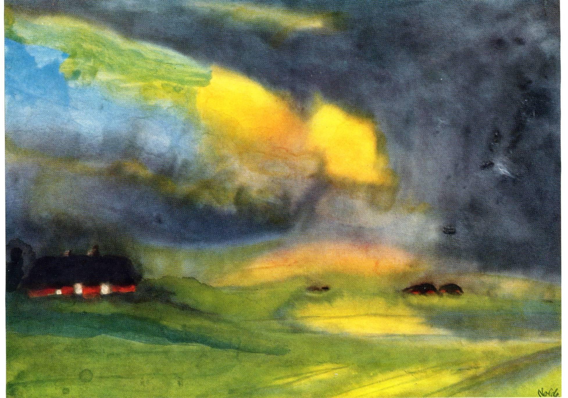 Pintura: Emil Nolde