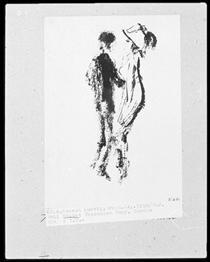 Dancing Couple - Emil Nolde