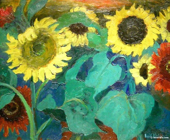 Sunflowers - Emil Nolde