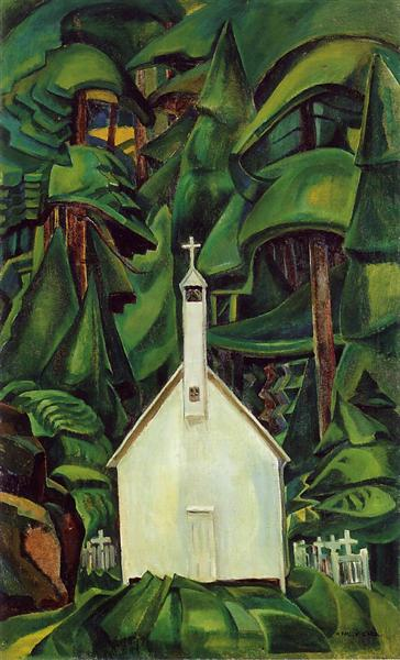 Indian Church, 1929 - Emily Carr