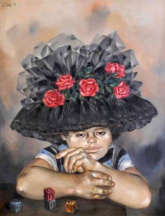 Sombrero de rosas - Enrique Grau