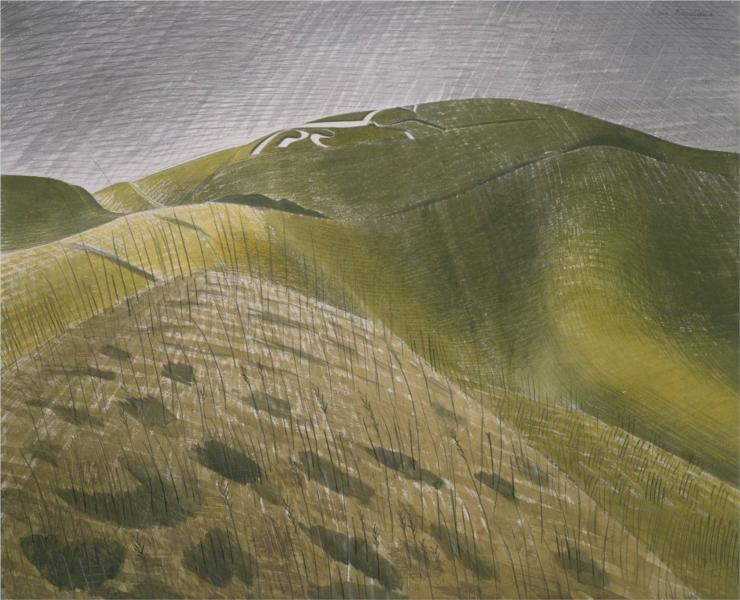 The Vale of the White Horse, 1939 - Eric Ravilious