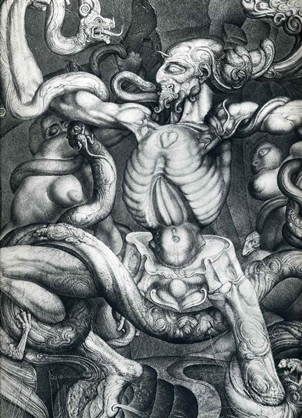 Anti-Laokoon, 1965 - Ernst Fuchs