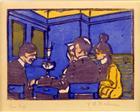 The Café - Ernst Ludwig Kirchner