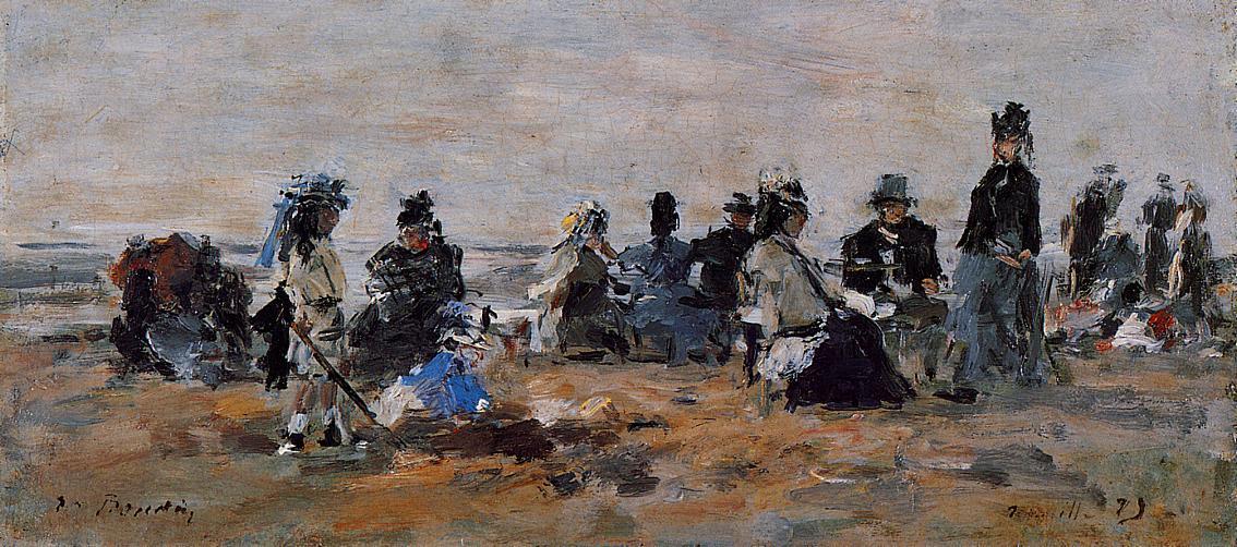 Beach Scene, 1879