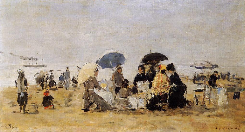 Beach Scene, 1880