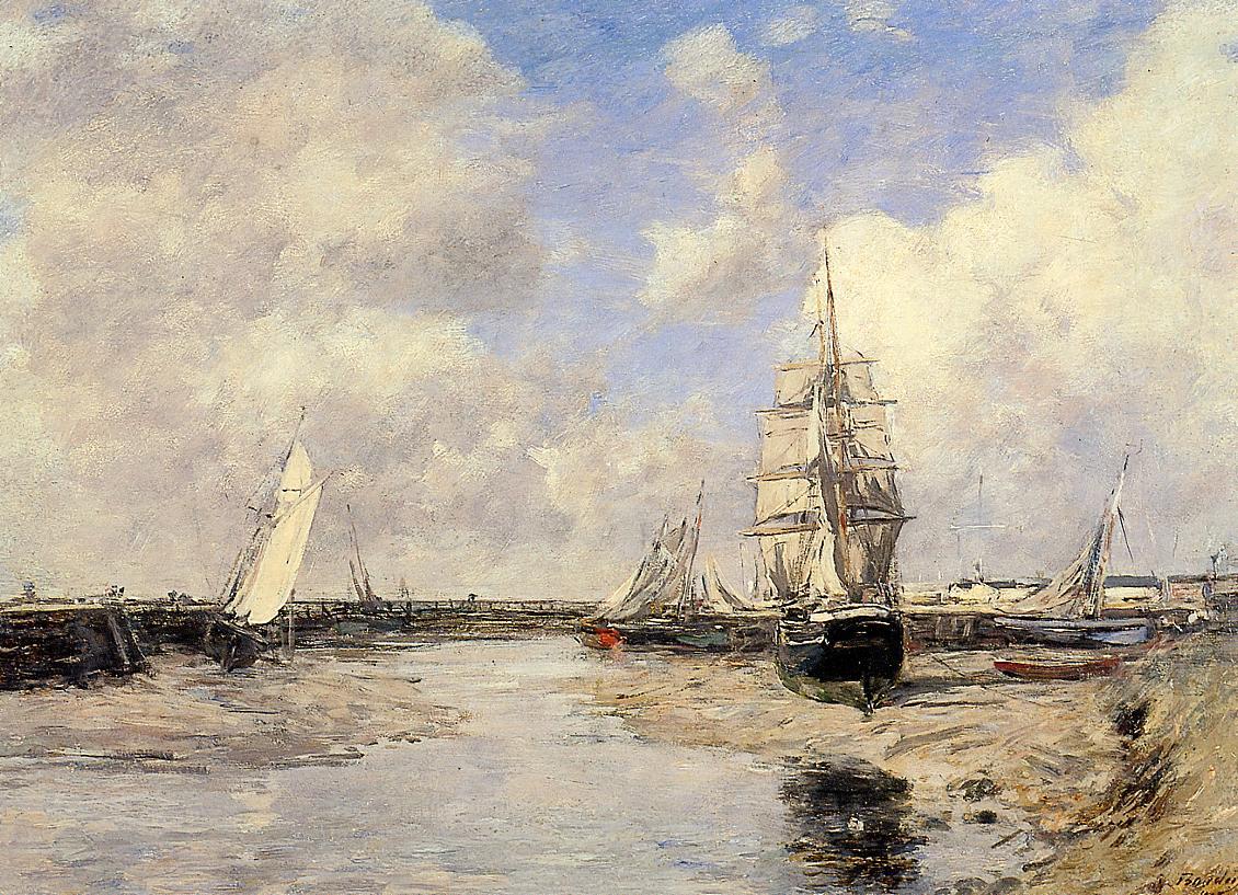 Estuary at Trouville, 1880
