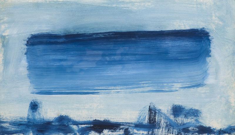 Blauwe wolk, 1959