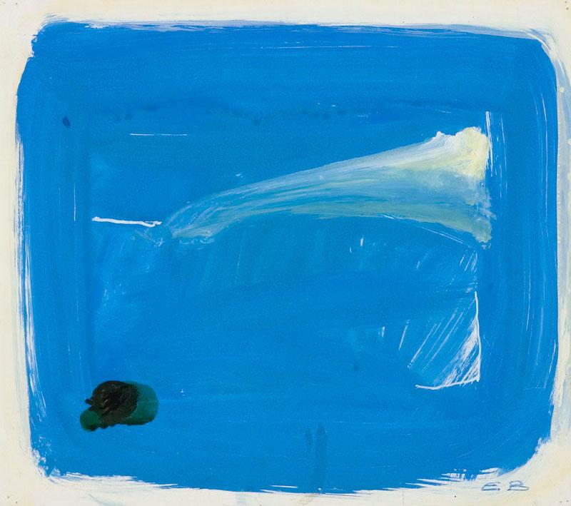 Blue window, 1991