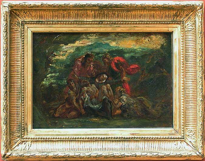 Pietà, 1837 - Eugene Delacroix