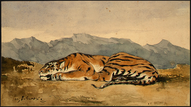Famous Paintings Of Tigers