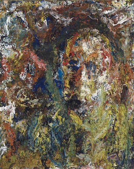 Autoportrait, 1971 - Eugène Leroy
