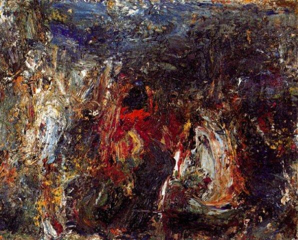 Study after Giorgione, 1989 - Eugene Leroy