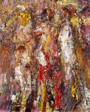 Three Graces, 1990 - Eugene Leroy