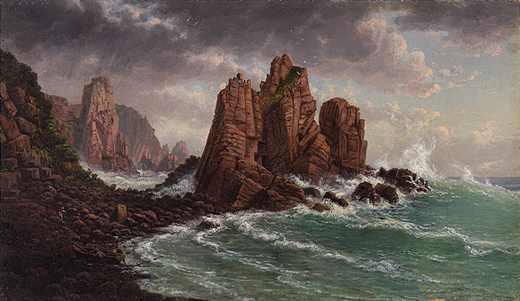 View Of The Granite Rocks At Cape Woolamai 1872 Eugene