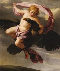 Abduction of Ganymede - Eustache Le Sueur