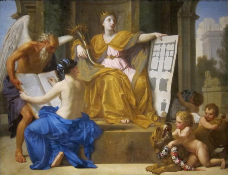 Allegory of Magnificence, 1654 - Eustache Le Sueur