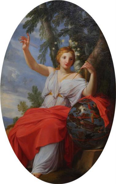The Muse Urania, 1647 - Eustache Le Sueur