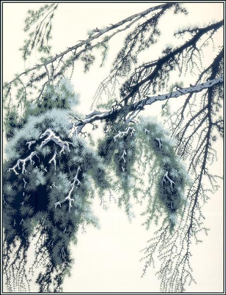 Pine Branch, 1951 - Eyvind Earle