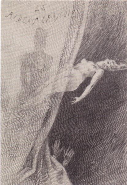 Illustration of 'Les Diaboliques', 1882 - Félicien Rops