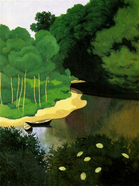 The Dordogne with Carrenac, 1925 - Felix Vallotton