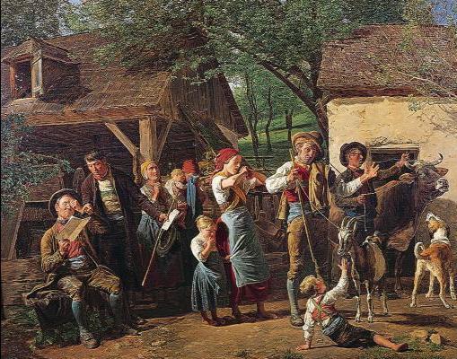 Seizure, 1847 - Ferdinand Georg Waldmüller